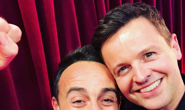 National Television Awards: Ant and Dec win best presenter gong despite Ant's rehab break