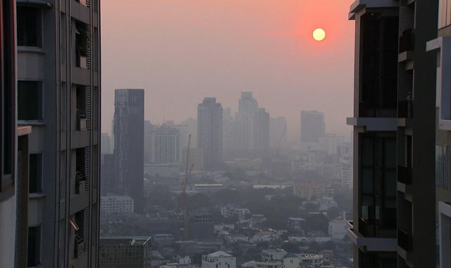 Bangkok pollution 'at crisis level' as planes trigger rain