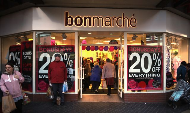 Bonmarche: High Street retailer collapses into administration as thousands of jobs at risk