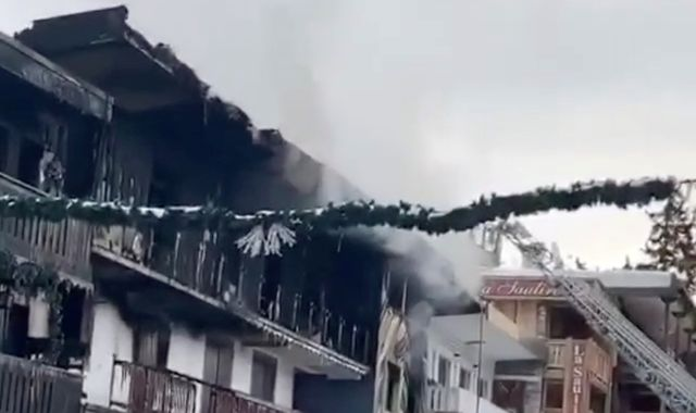 Courchevel fire: Blaze at workers' accommodation in French ski resort kills two people