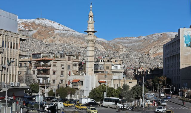 Bomb blast at military checkpoint in Syrian capital Damascus