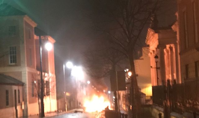 Suspected car bomb explodes outside Derry/Londonderry court house