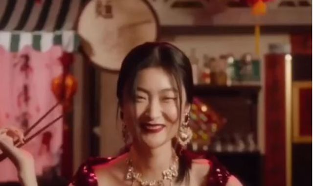 Model speaks out after eating pizza with chopsticks in 'racist' Dolce & Gabbana ad
