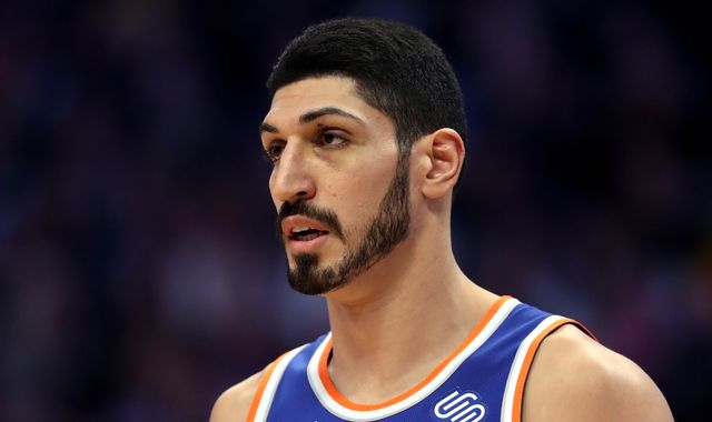 Enes Kanter: Turkey seeks arrest of New York Knicks star over 'ties to terror group'