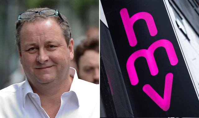 Ashley aims for right note with rescue bid for ailing HMV