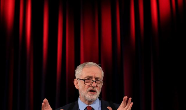 Jeremy Corbyn tries to block MPs from helping Theresa May break Brexit deadlock