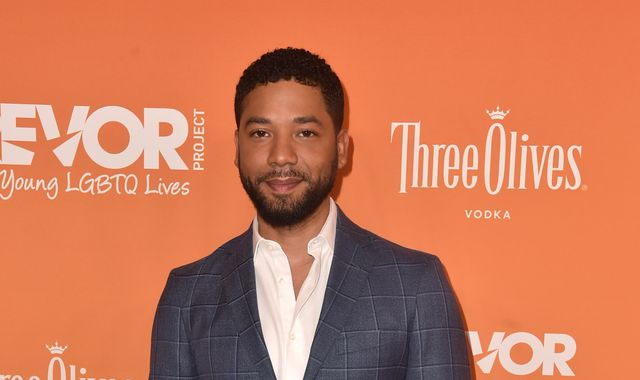 Empire actor Jussie Smollett turns himself in over claim he faked racist attack