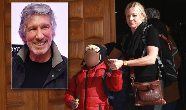 Pink Floyd star uses private jet to reunite mother with her kidnapped children