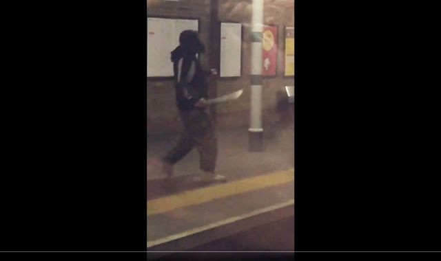 Man sectioned under Mental Health Act after brandishing machete at Tulse Hill station