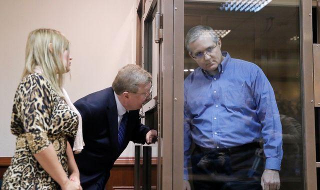 Paul Whelan: Ex-marine accused of spying 'had secret Russian files on USB drive'