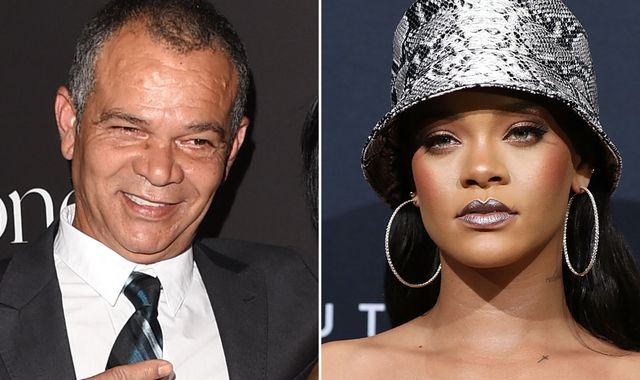 Rihanna sues father over use of Fenty name for his talent business