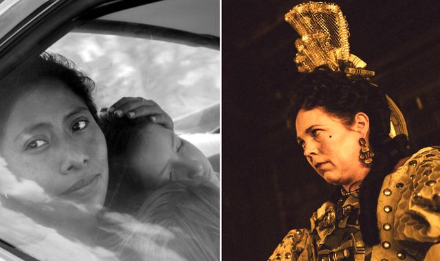 Oscars 2019: Roma and The Favourite lead the way with 10 nominations each