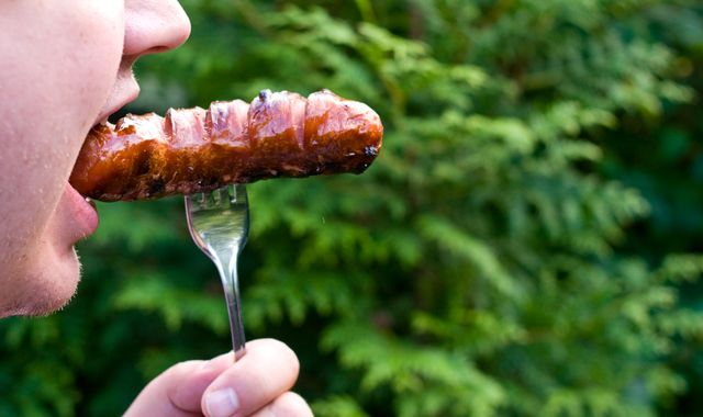 Diet to save the planet: One bite of sausage a day