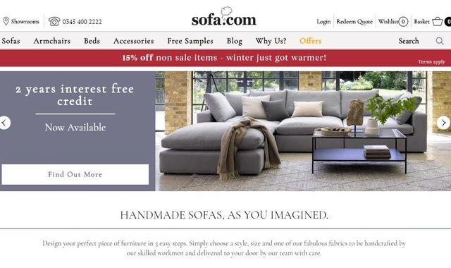 No rest for Sofa.com as online retailer seeks buyer