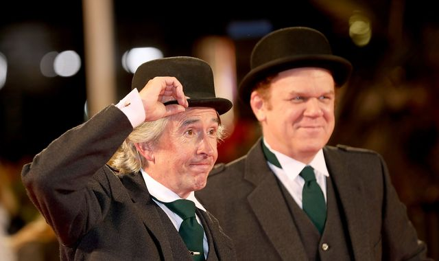 Stan & Ollie: Laurel and Hardy biopic starring Steve Coogan and John C Reilly 'a love story with comedy'
