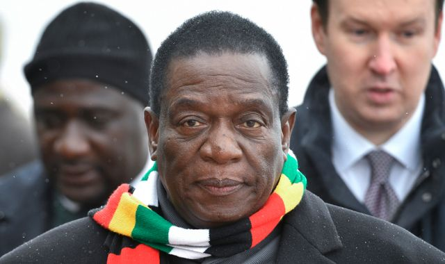 Emmerson Mnangagwa returns to Zimbabwe as unrest continues