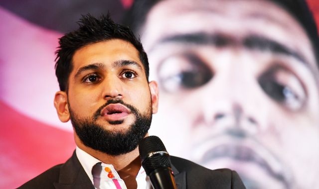 Amir Khan says Kell Brook's last performance derailed plans for a bumper domestic clash