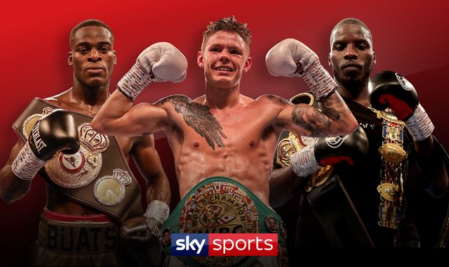 Live stream as Charlie Edwards, Joshua Buatsi and Lawrence Okolie weigh-in ahead of Saturday's bill