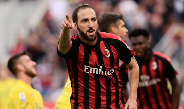 Chelsea increasingly confident Gonzalo Higuain will sign