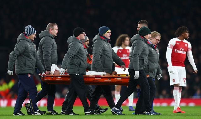 Arsenal's Hector Bellerin out for up to nine months after rupturing anterior cruciate ligament