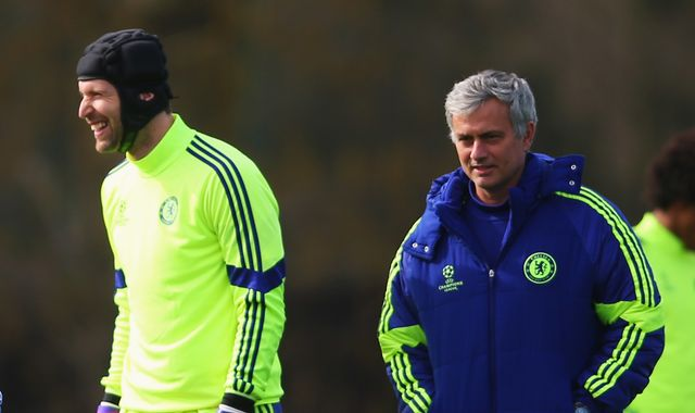 Jose Mourinho congratulates Petr Cech on 'amazing career'