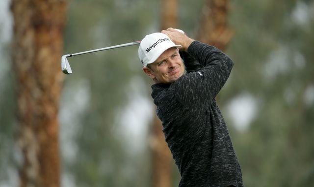 Justin Rose happy to birdie last three holes in opening 68 in California