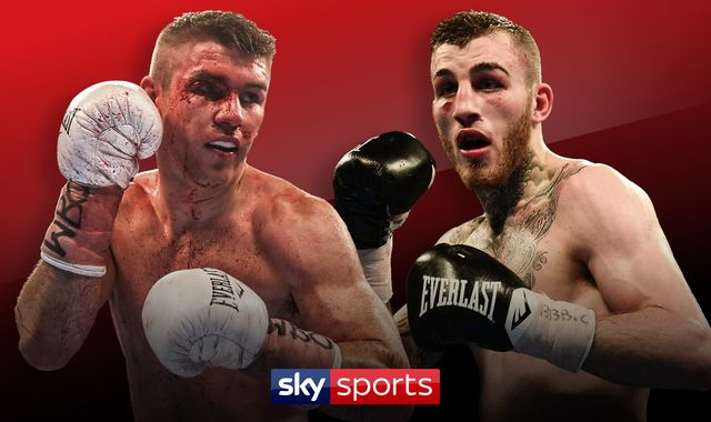 Liam Smith faces Sam Eggington in super-welterweight showdown live on Sky Sports