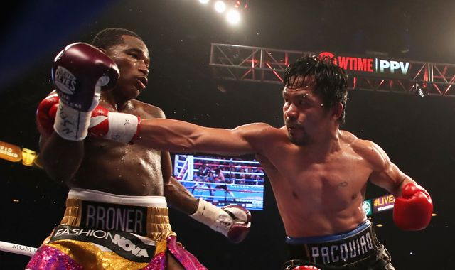 Pacquiao vs Broner: Manny Pacquiao beats Adrien Broner with unanimous points decision in Las Vegas