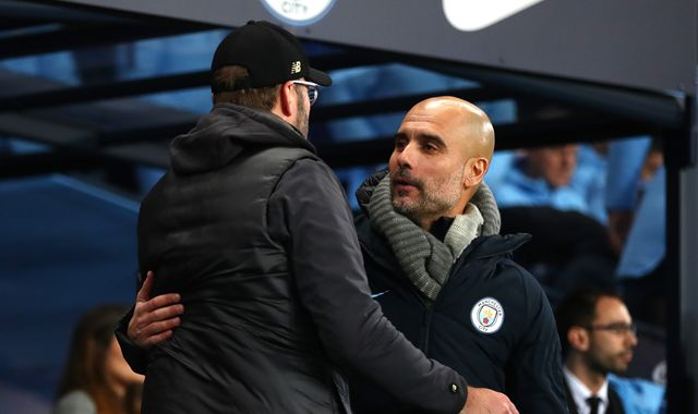 Liverpool a class apart this term, says Man City boss Pep Guardiola