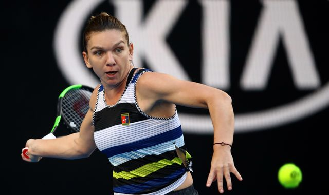 Simona Halep books Serena Williams meeting in Australian Open fourth round