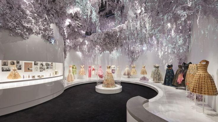 Christian Dior: Designer Of Dreams exhibition at V&A. Pic: Adrien Dirend
