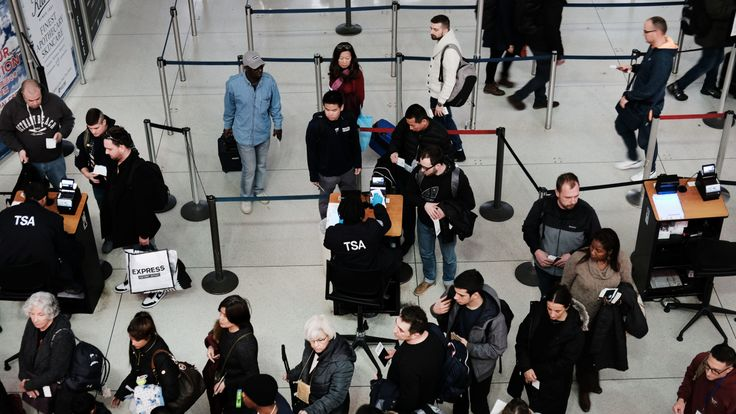 Hundreds of airport and agents have called in sick from their shifts from a number of major airports