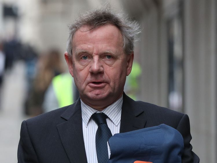 Andrew Hill is facing 11 counts of gross negligence at the Old Bailey