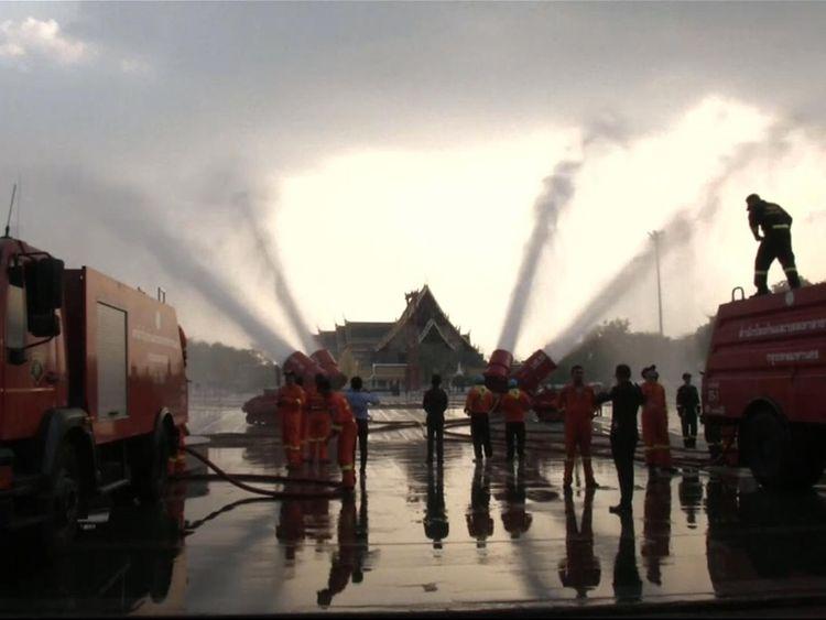 Bangkok pollution 'at crisis level' as planes trigger rain