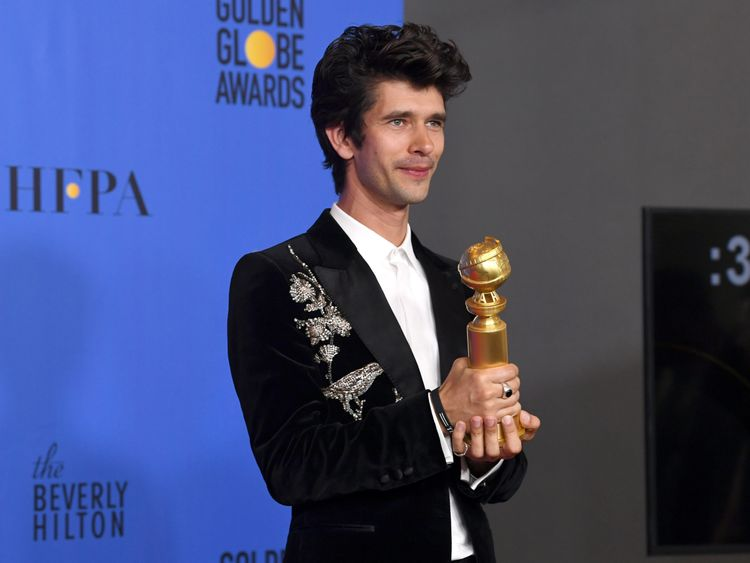 Ben Whishaw in the press room during the 76th Annual Golden Globe Awards at The Beverly Hilton Hotel on January 6, 2019 in Beverly Hills, California.