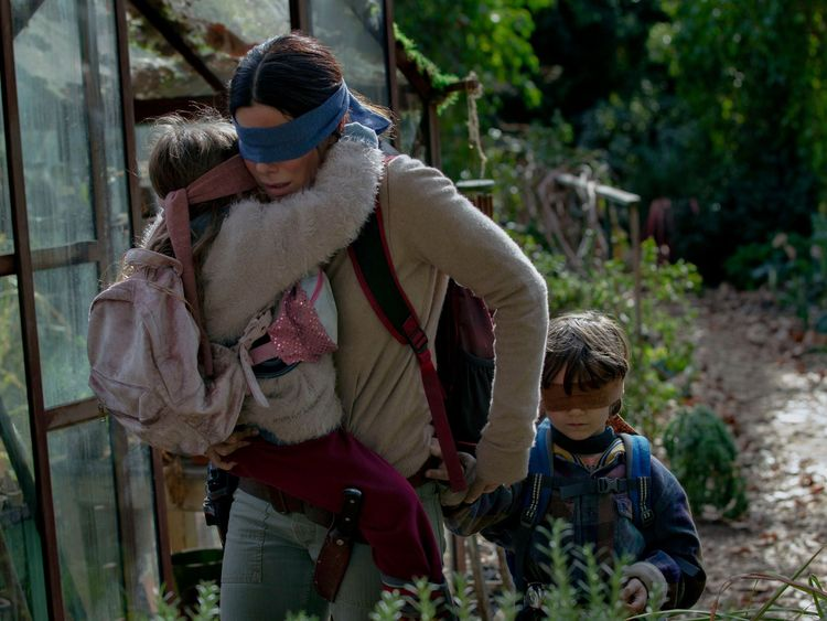 Bird Box, Netflix film 2018