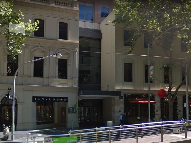 Police are investigating a suspicious package sent to the British Consulate in Melbourne. Pic: Google Streetview