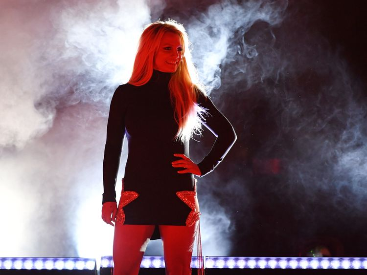 Singer Britney Spears attends the announcement of her new residency, 'Britney: Domination' at Park MGM on October 18, 2018 in Las Vegas, Nevada. Spears will perform 32 shows at Park Theater at Park MGM starting in February 2019. (Photo by Ethan Miller/Getty Images)