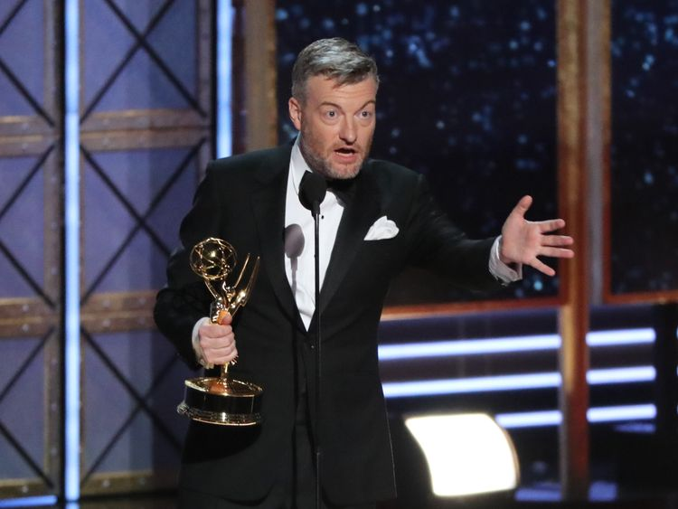 Brooker won an Emmy award for Black Mirror in 2017