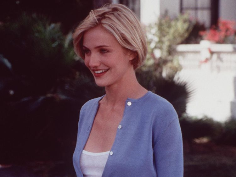 "1998 Cameron Diaz star in ""There's Something about Mary."""