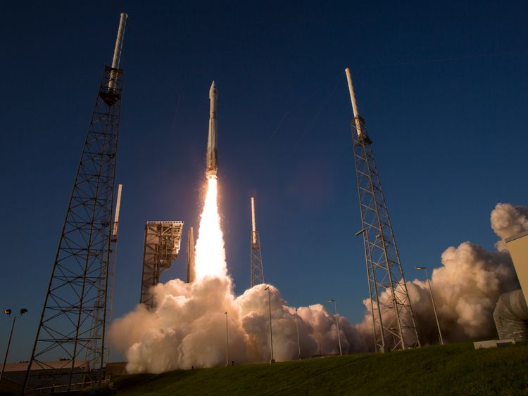 Lift-off for the Osiris-Rex back in 2016 from Cape Canaveral in Florida