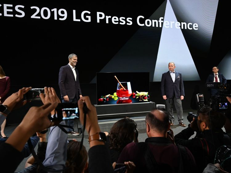 The TV has already plenty of media interest - and CES has not even officially begun yet
