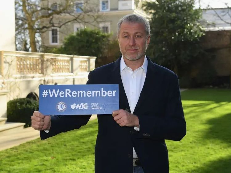 Chelsea owner Roman Abramovich, who is Jewish, supports the campaign. Pic: chelseafc.com