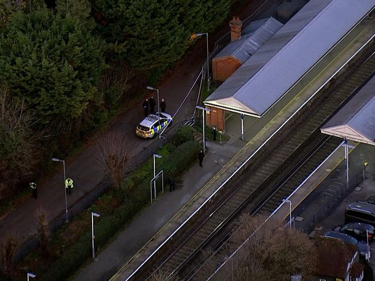 Surrey train stabbing: man appears in court charged with murder