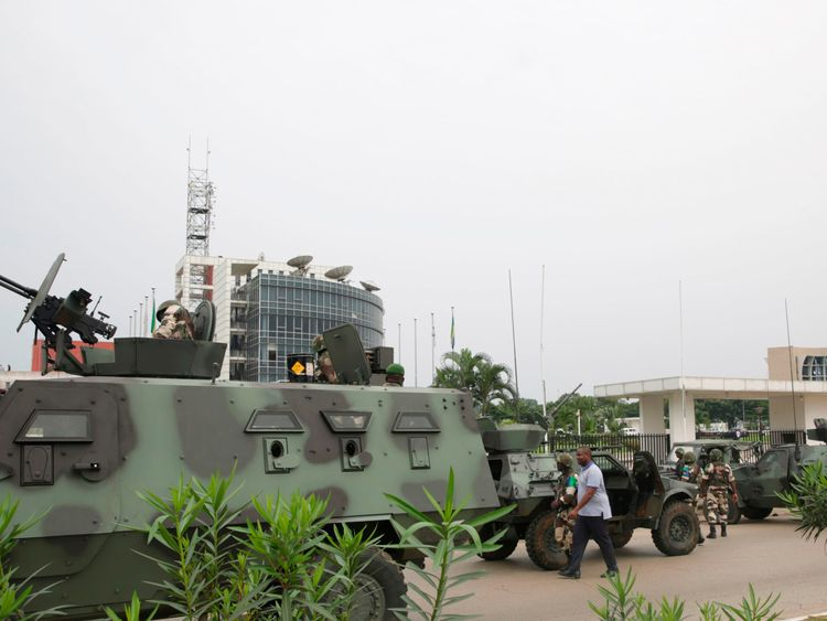 Gabon coup attempt: Chief rebel held and two commandos killed