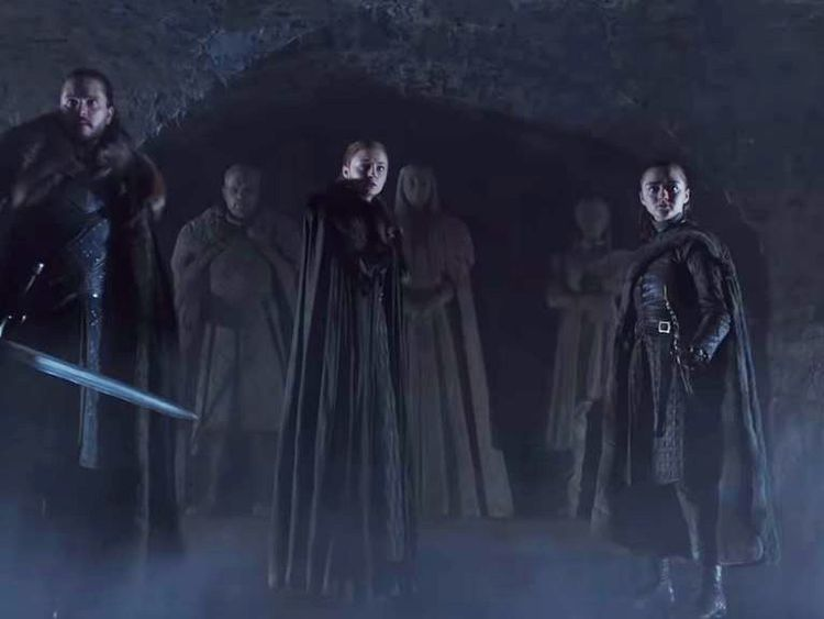 Game Of Thrones final season. Pic: Sky Atlantic