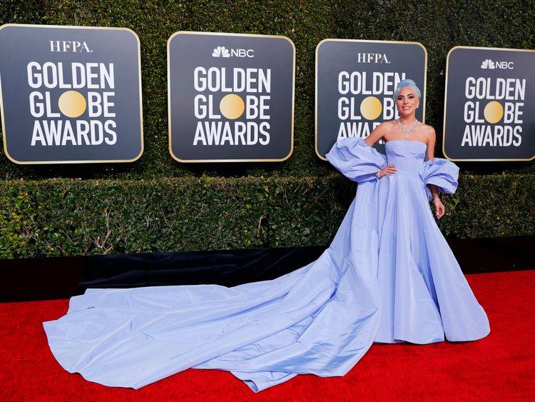 Golden Globe winners walk the red carpet