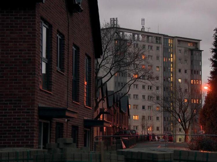 Housing developments in Birmingham