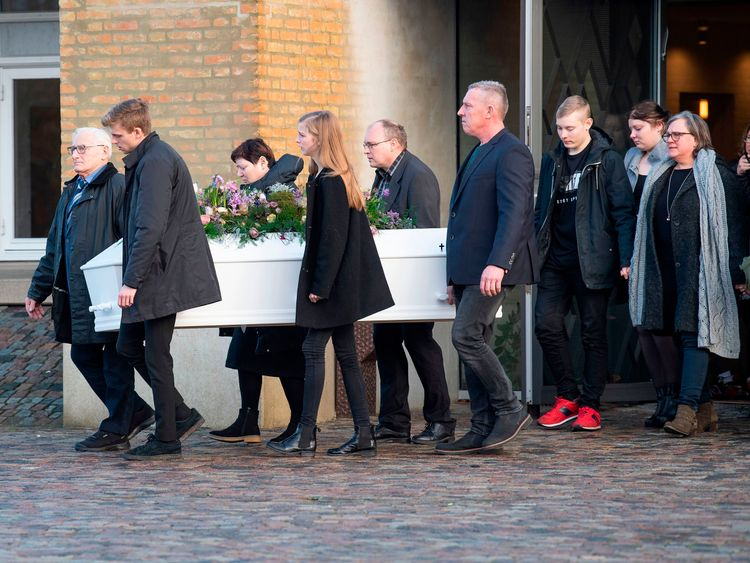 Danish PM among hundreds at funeral for tourist killed in Morocco