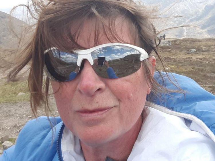 Karen will walk 20,000 miles